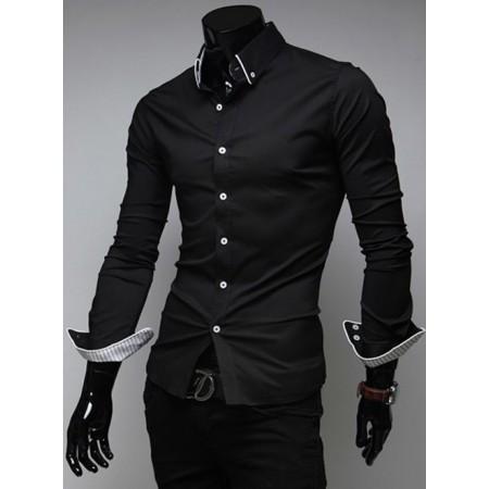 Официална черна риза