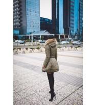 Giacca invernale con cappuccio
