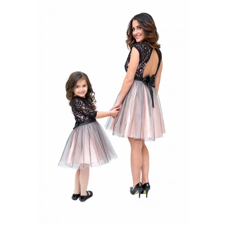 Vestiti Eleganti Mamma E Figlia.Abito Da Cerimonia Bimba